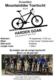 Harder Goan MTB Toertocht